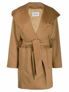Max Mara textured belted coat - Neutrals