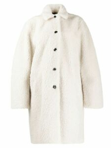 PS Paul Smith shearling coat - White