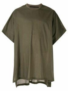 Julius oversized short-sleeve T-shirt - Green