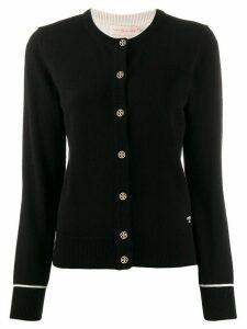 Tory Burch cashmere slim-fit cardigan - Black