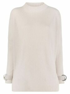 Lorena Antoniazzi boat neck jumper - Neutrals