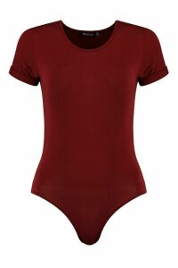 Womens Tall T-Shirt Bodysuit - red - 16, Red