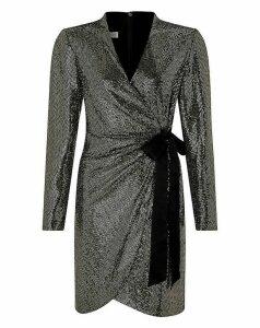 Monsoon Trinity Tux Sequin Dress