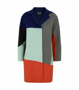 Cashmere Colour-Block Coat