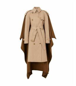 Blanket Detail Trench Coat