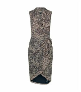 Cancity Leopard Patch Dress