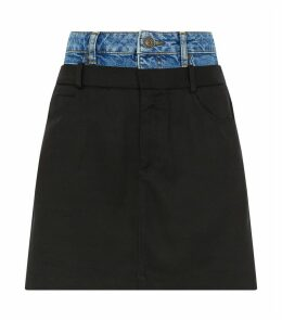 Multi-Textured Skirt