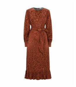 Leopard Print Galina Dress