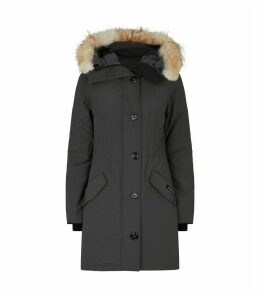 Rossclair Fur-Trim Parka