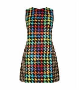 Colin Patchwork Sleeveless Dress