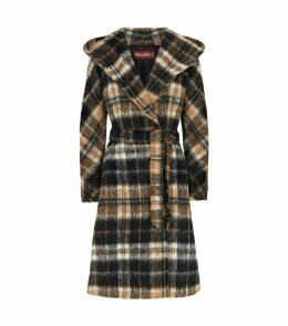 Alpaca Check Coat