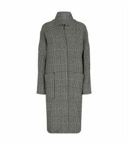 Teya Check Coat