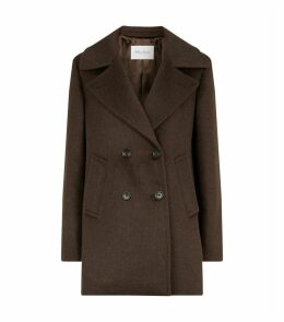 Cashmere-Wool Belted Coat
