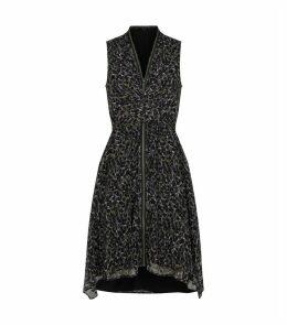 Jayda Leopard Dress