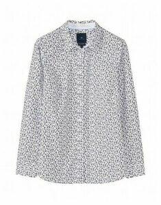 Lulworth Poplin Shirt in White