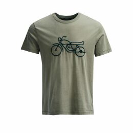 French Connection Motorcycle Embroidered T-Shirt
