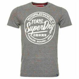 Superdry Worldwide Ticket Type Splatter T-Shirt