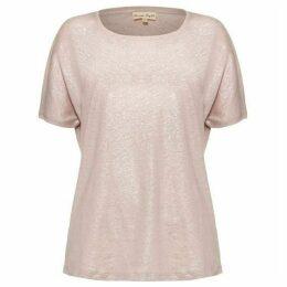 Phase Eight Lara Linen Foil T-Shirt