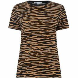Warehouse Tiger Print T-Shirt