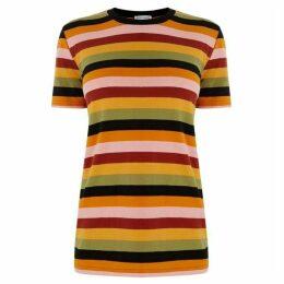 Warehouse Multi Stripe T-Shirt