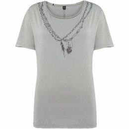 Replay Scoop-neck T-shirt