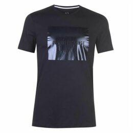 Armani Exchange Block Logo T-Shirt