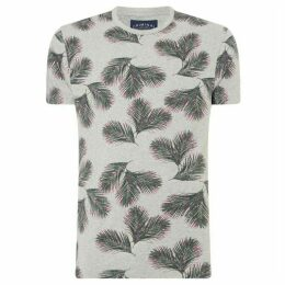Criminal Island Palm Print T-Shirt