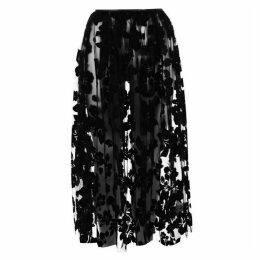 Ashley Williams Flock Skirt