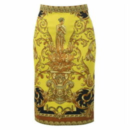 Versace Barocco Pencil Skirt