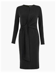 M&S Collection PETITE Jersey Bodycon Midi Dress