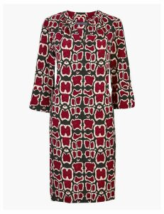 M&S Collection Animal Print Shift Dress