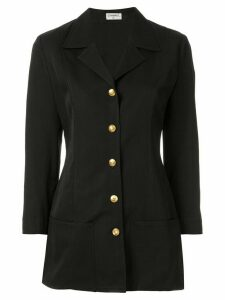 Chanel Pre-Owned CC button blazer - Black