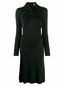 Versace Pre-Owned 1990s twist detail dress - Black
