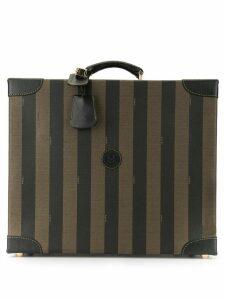 Fendi Pre-Owned Pequin pattern trunk bag - Brown