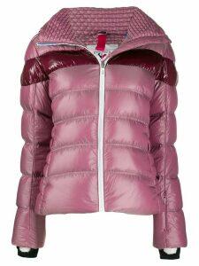 Rossignol contrast stripe ski jacket - Pink