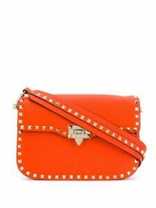 Valentino Valentino Garavani Rockstud shoulder bag - Orange