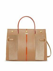 Burberry title bag - Brown
