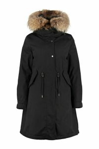 Woolrich Ws Cascade Hooded Quilted Parka With Internal Removable Waistcoat