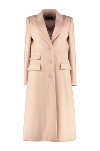 Alberta Ferretti Virgin Wool And Cashmere Coat