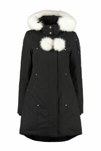 Moose Knuckles Stirling Padded Parka With Fur Hood