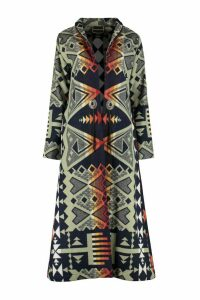 Jessie Western Waterarrow Wool Long Coat