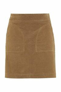 A.P.C. Shanya Velvet Skirt