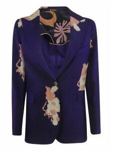 Ibrigu Floral Printed Blazer