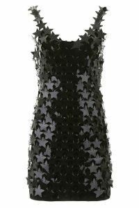 Paco Rabanne Star Sequins Mini Dress