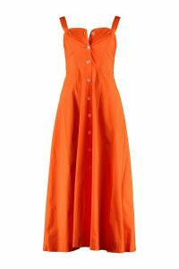 Pinko Monia Poplin Maxi Dress