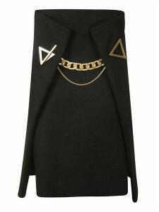 Bottega Veneta Cavalry Twill Skirt