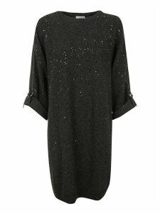 Brunello Cucinelli Embellished Dress