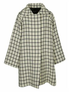 Gianluca Capannolo Check Pattern Oversized Coat