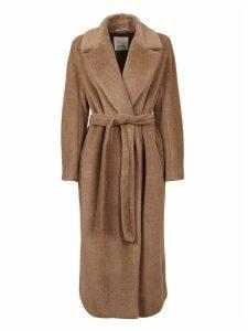 Beige Alpaca Coat