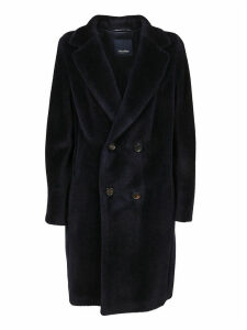 Blue Alpaca Coat